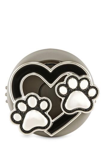 Heart Paws Vent Clip Car Fragrance Holder