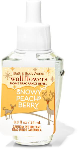 Snowy Peach Berry Wallflowers Fragrance Refill