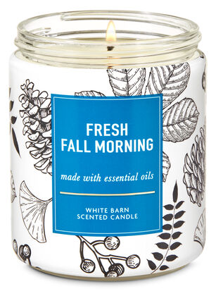 Fresh Fall Morning Single Wick Candle