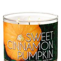 Bath & Body Works Sweet Cinnamon Pumpkin 3-Wick Candle Deals