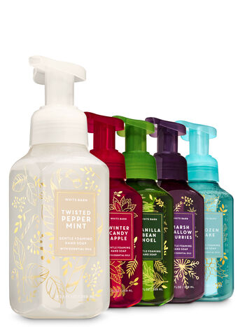 Christmas Glow Gentle Foaming Hand Soap, 5-Pack - Bath And Body Works