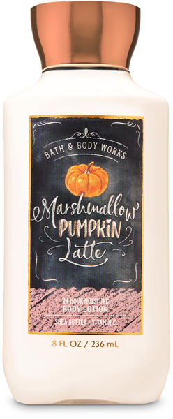 Marshmallow Pumpkin Latte Super Smooth Body Lotion