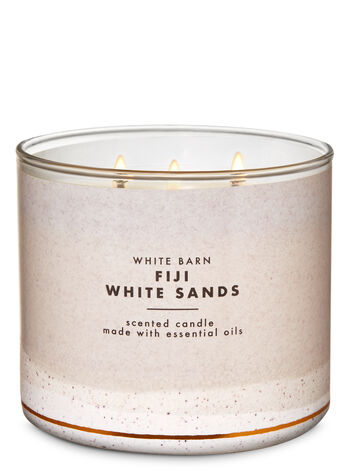 White Barn Fiji White Sands 3-Wick Candle - Bath And Body Works