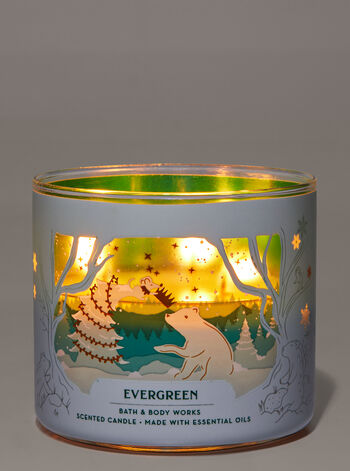 Evergreen 3-Wick Candle