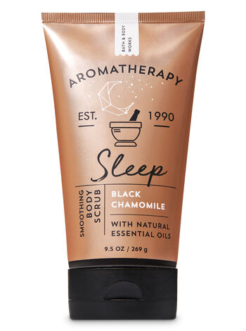 Aromatherapy Black Chamomile Smoothing Body Scrub - Bath And Body Works