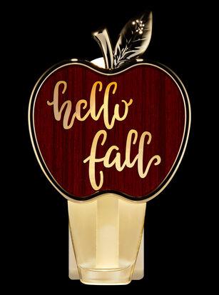 Hello Fall Apple Nightlight Wallflowers Fragrance Plug