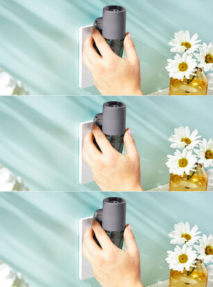 Gray Adjustable Wallflowers Scent Control™ Plug
