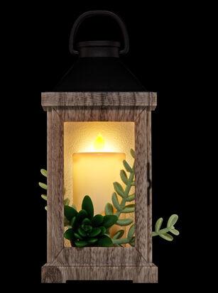 Succulent Wood Lantern Wallflowers Fragrance Plug