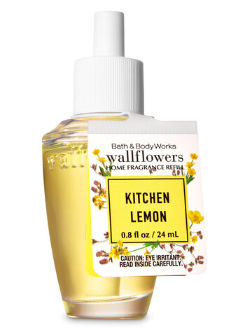 Kitchen Lemon Wallflowers Fragrance Refill - Bath And Body Works