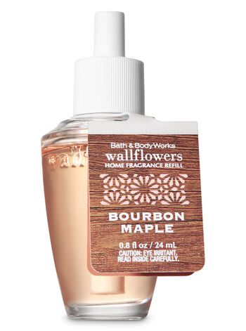 Bourbon Maple Wallflowers Fragrance Refill - Bath And Body Works