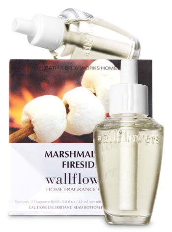 Marshmallow Fireside Wallflowers Refills, 2-Pack - Bath And Body Works
