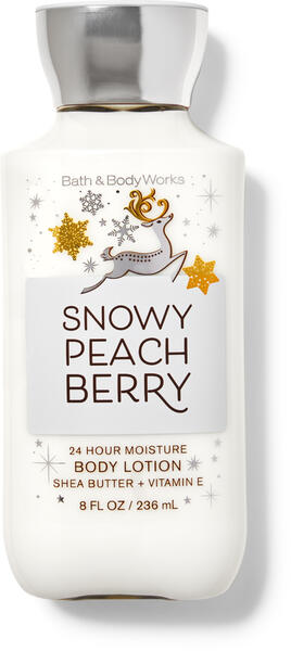 Snowy Peach Berry Super Smooth Body Lotion
