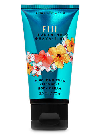Fiji Sunshine Guava-Tini Travel Size Body Cream - Bath And Body Works