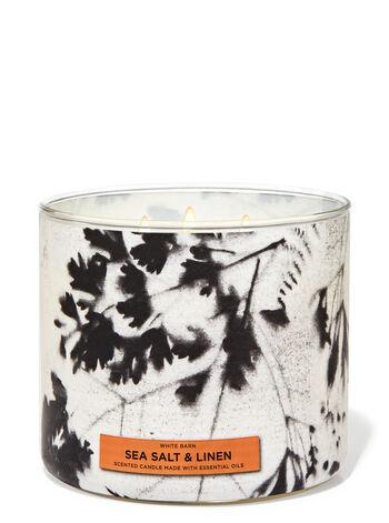 Sea Salt & Linen 3-Wick Candle