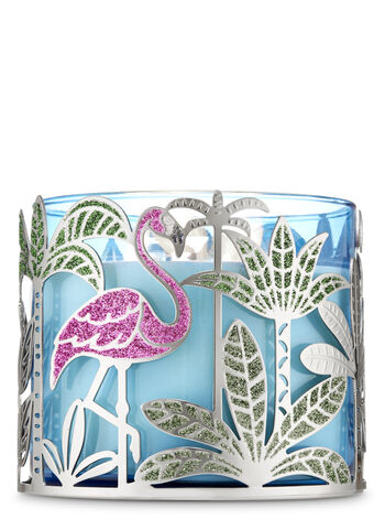 Flamingo 3-Wick Candle Holder - Bath And Body Works