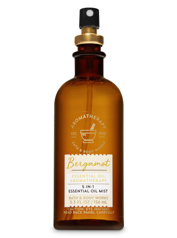 Aromatherapy Bergamot 5-in-1 Essential Oil Mist - Bath And Body Works