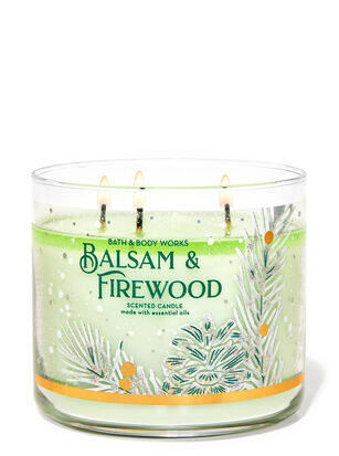 Balsam & Firewood 3-Wick Candle