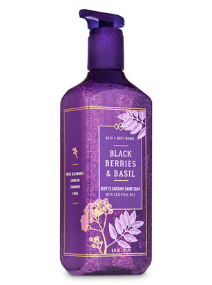 Blackberries & Basil Deep Cleansing Hand Soap