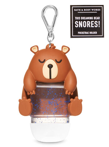 Noise-Making Bear PocketBac Holder