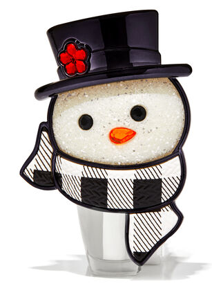 Snowman Head Nightlight Wallflowers Fragrance Plug