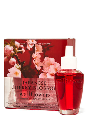 Japanese Cherry Blossom Wallflowers Refills, 2-Pack