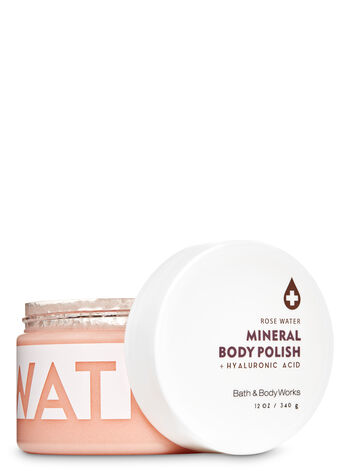 Rose Water Hyaluronic Acid Mineral Body Polish - Bath And Body Works