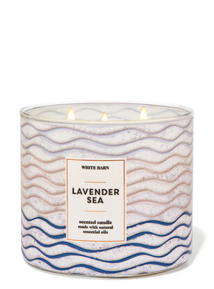 Lavender Sea 3-Wick Candle