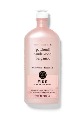 Fire Body Wash and Foam Bath