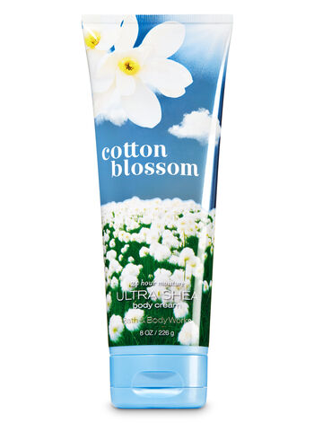 Signature Collection Cotton Blossom Ultra Shea Body Cream - Bath And Body Works