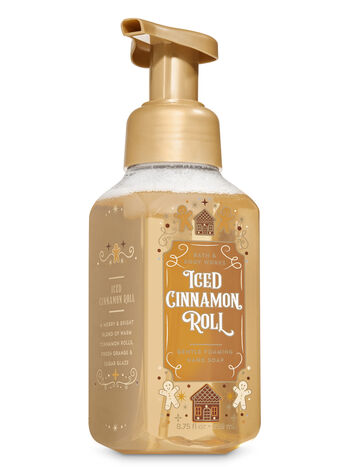 Iced Cinnamon Roll Gentle Foaming Hand Soap - Bath And Body Works