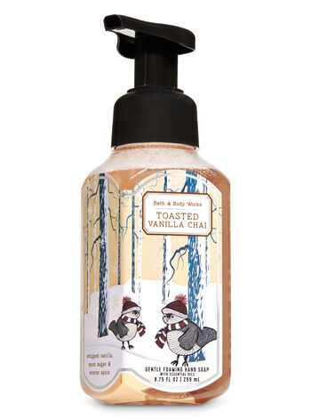 Toasted Vanilla Chai Gentle Foaming Hand Soap - Bath And Body Works