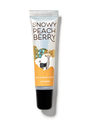 Snowy Peach Berry Shimmer Lip Gloss