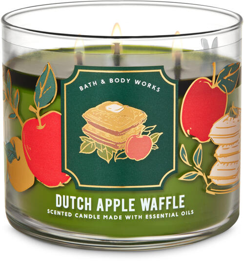 Dutch Apple Waffle 3-Wick Candle