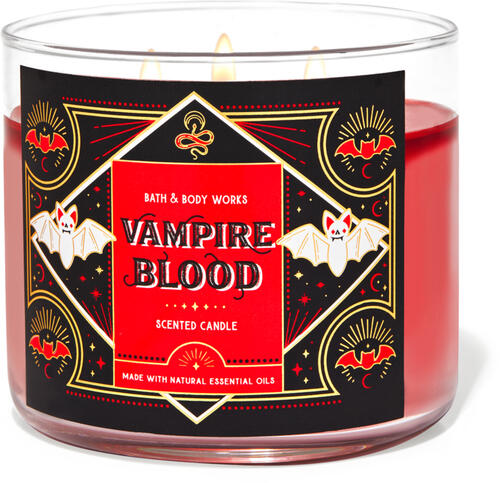 Vampire Blood 3-Wick Candle