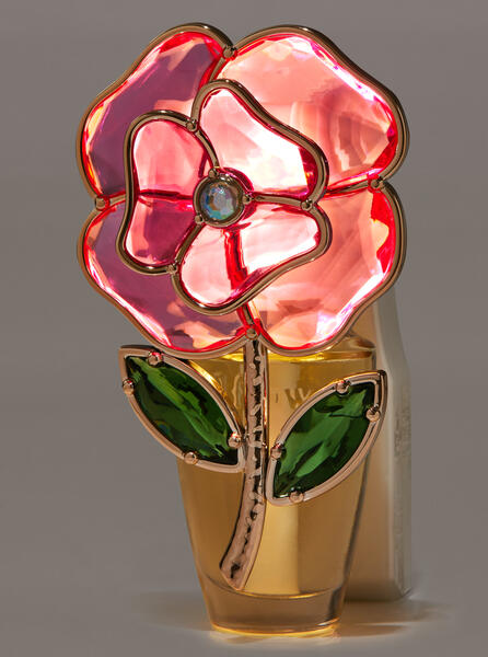 Gemstone Rose Nightlight Wallflowers Fragrance Plug