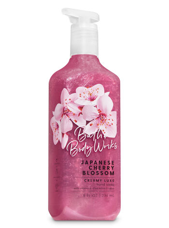 Japanese Cherry Blossom Creamy Luxe Hand Soap - Bath And Body Works