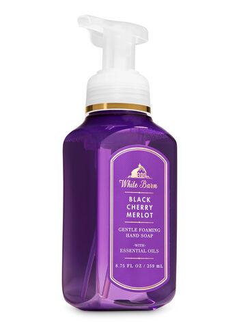 White Barn Black Cherry Merlot Gentle Foaming Hand Soap - Bath And Body Works