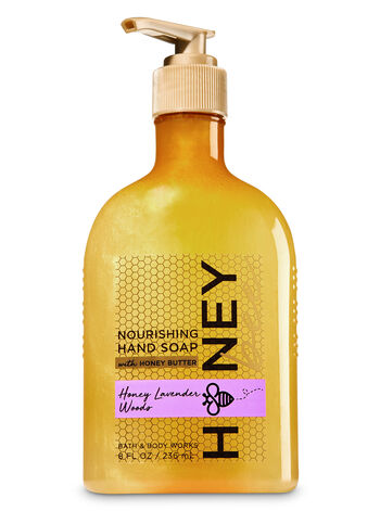 Honey Lavender Woods Hand Soap with Honey Butter - Bath And Body Works