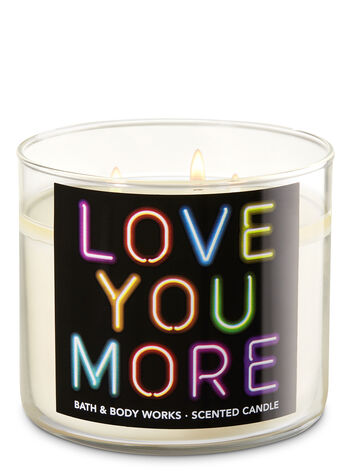 Black Tea Rose 3-Wick Candle - Bath And Body Works