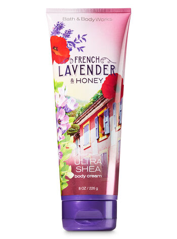 Signature Collection French Lavender & Honey Ultra Shea Body Cream - Bath And Body Works