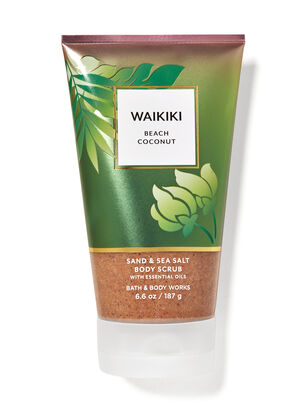 Waikiki Beach Coconut Sand & Sea Salt Body Scrub