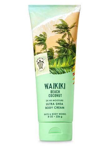 Signature Collection Waikiki Beach Coconut Ultra Shea Body Cream - Bath And Body Works