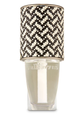 Black & White Basketweave Wallflowers Fragrance Plug - Bath And Body Works