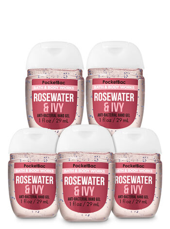 Rose Water & Ivy PocketBac Hand Sanitizers, 5-Pack - Bath And Body Works