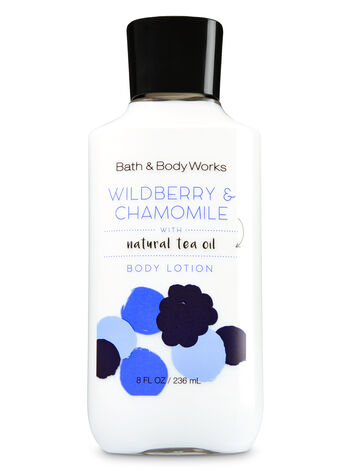 Signature Collection Wildberry & Chamomile Body Lotion - Bath And Body Works
