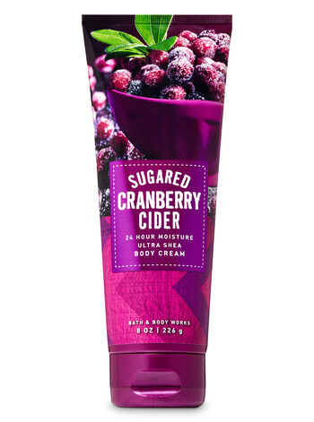 Sugared Cranberry Cider Ultra Shea Body Cream - Bath And Body Works