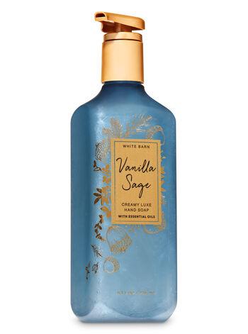 Vanilla Sage Creamy Luxe Hand Soap