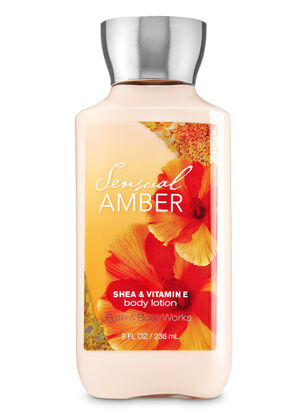 Sensual Amber Body Lotion