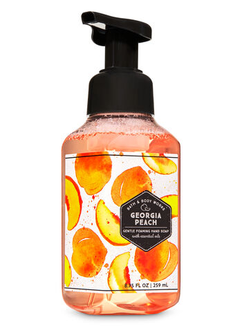 Georgia Peach Gentle Foaming Hand Soap - Bath And Body Works