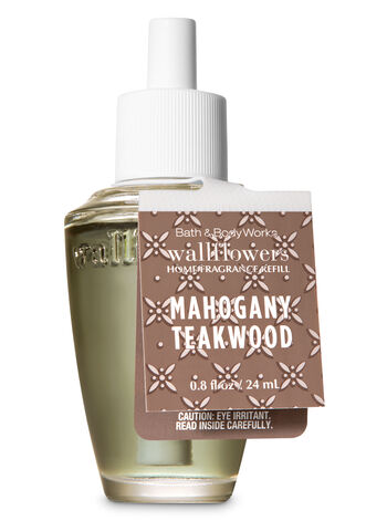 Mahogany Teakwood Wallflowers Fragrance Refill - Bath And Body Works